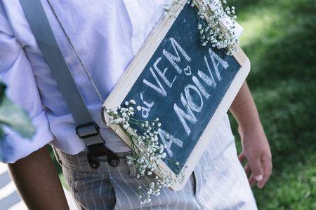 9 Ideias para decorar o seu casamento com quadros de lousa