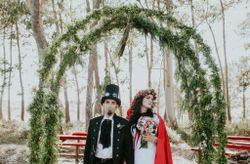 """O casamento do Gonçalo e da Vanessa: um """"once upon a time"""" mágico, numa floresta encantada"""