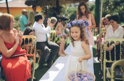 Penteado de casamento para meninas