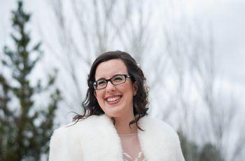 Noiva com óculos: dicas para combinar os acessórios