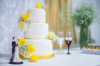 20 Tipos de topos de bolo encantadores para o teu casamento