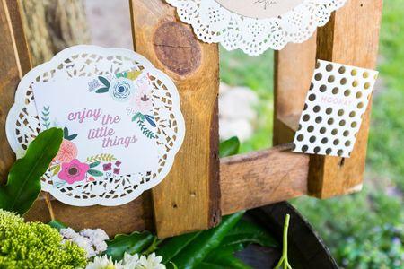 Caixas na decoração: rústico com elegância