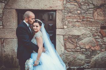 O casamento da Sílvia e do Rui: um conto de fadas cheio de cumplicidade e amor