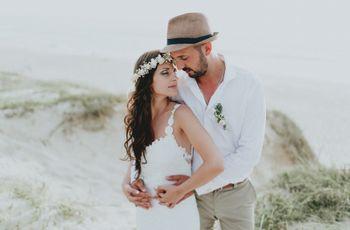 O casamento de Wilson e Salomé: Um sim inesquecível junto à beira-mar
