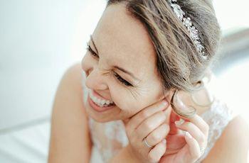 7 Penteados de noiva muito naturais