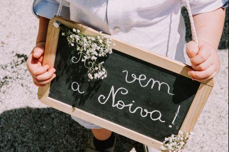 Ideias criativas para anunciar a chegada da noiva