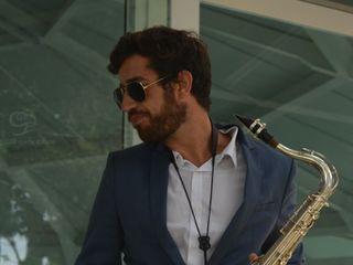 Saxofonista Tiago Vigia 1