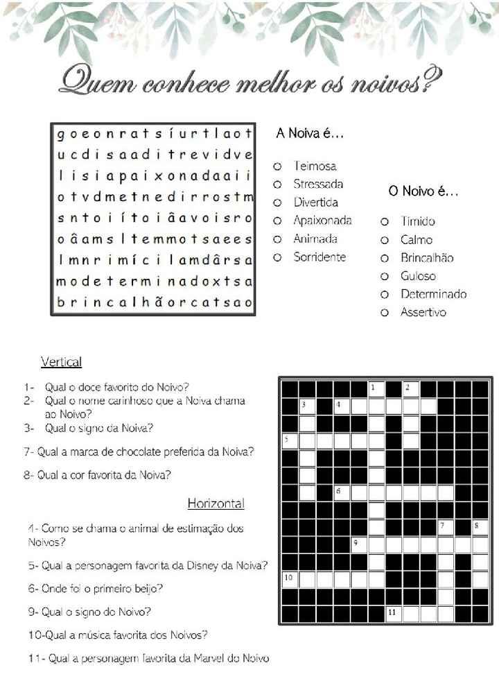 Livro com jogos e curiosidades - 2
