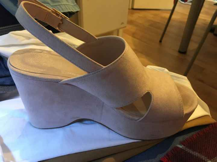 Quanto custaram os vossos sapatos de casamento? - 1