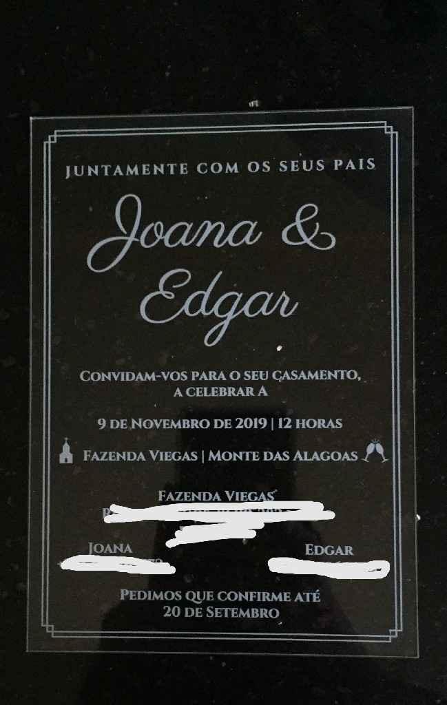 Convites transparentes: uma ideia maravilhosa para o teu casamento 😍 - 1