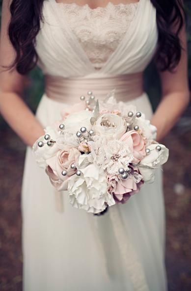 Bouquet tecido