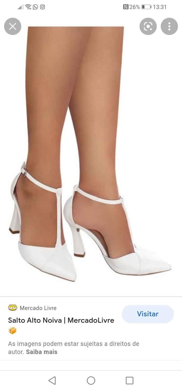 Sapatos de noiva 👰 - 1