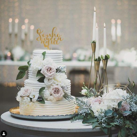 As cores do nosso Casamento: Branco e verde + apontamentos em dourado e rosa 4