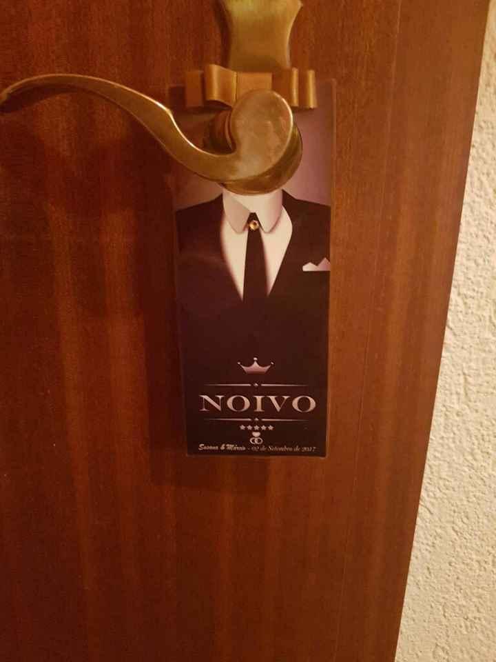 Placas para as portas, check😍😁 - 5