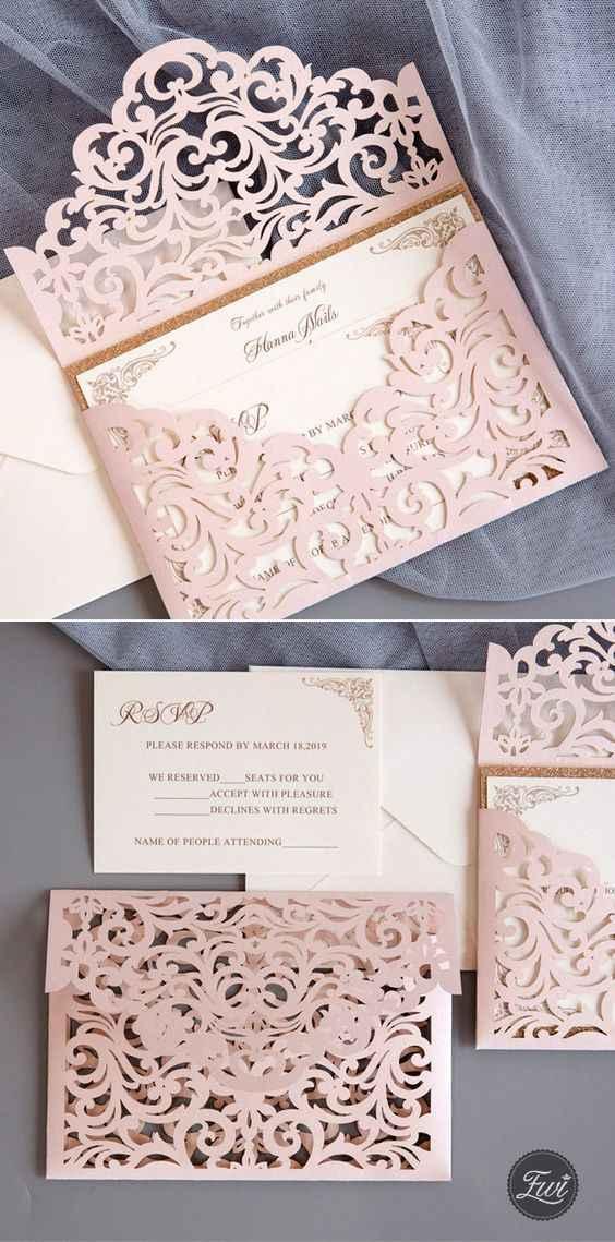 Casamento Vintage - Rosa Dourado 💗 #outubrorosa - 1