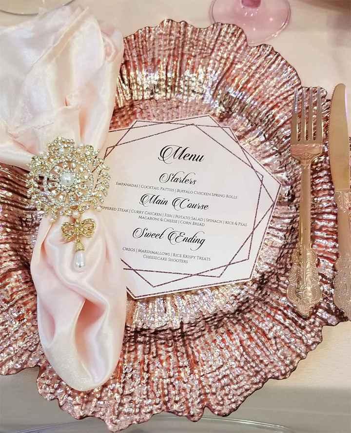Casamento Vintage - Rosa Dourado 💗 #outubrorosa - 7