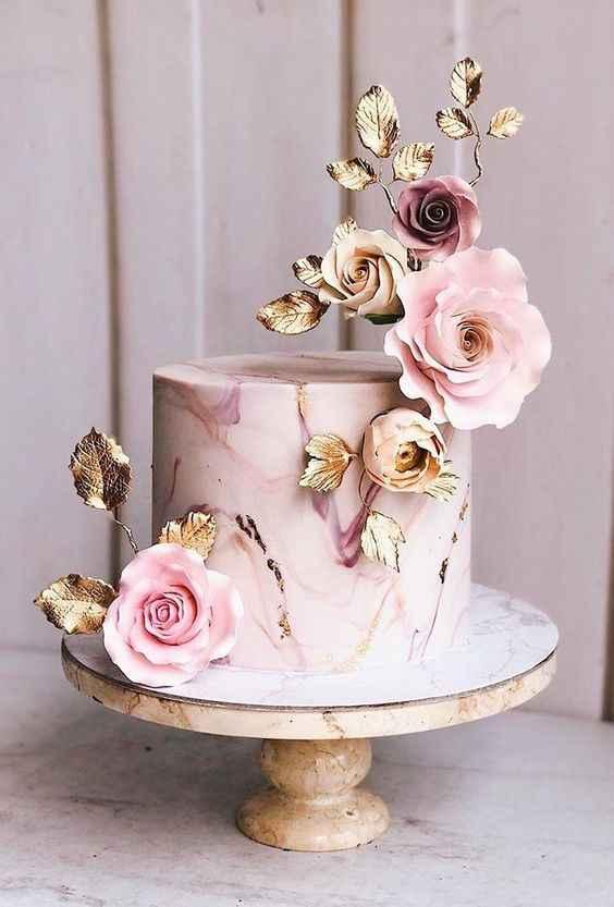 Casamento Vintage - Rosa Dourado 💗 #outubrorosa - 10