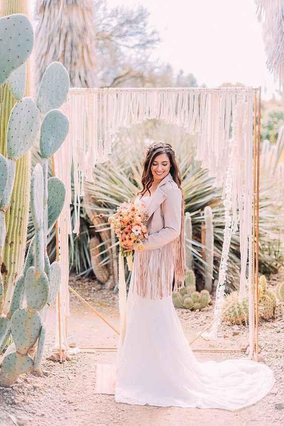 Casamento Minimalista - Rosa Dourado 💗 #outubrorosa - 4