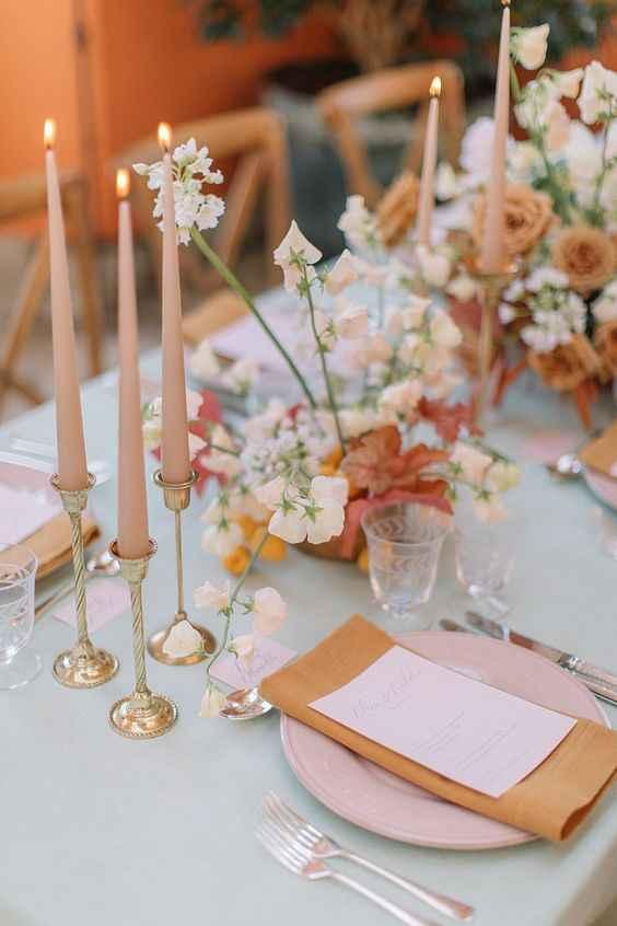 Casamento Minimalista - Rosa Dourado 💗 #outubrorosa - 7