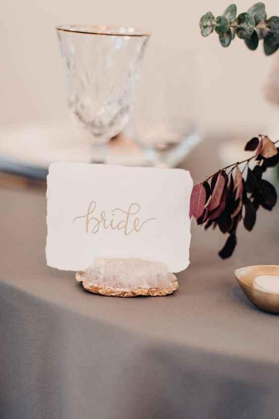 Casamento Minimalista - Rosa Dourado 💗 #outubrorosa - 9