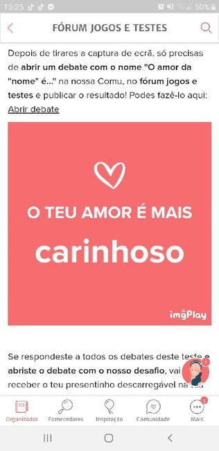 O teu amor é mais.... DESAFIO! 17