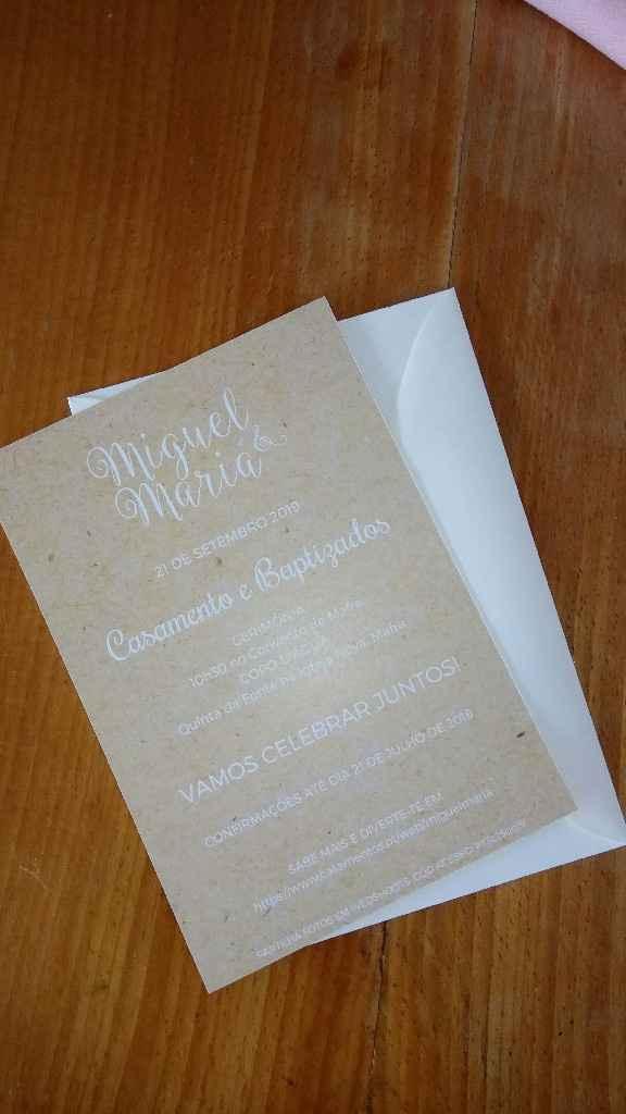 Quanto custou o vosso convite de casamento?:) - 3