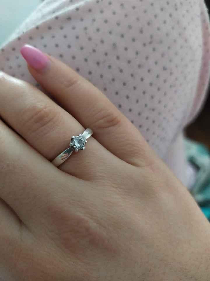 Bora partilhar o nosso anel de noivado? 💍😍 - 1