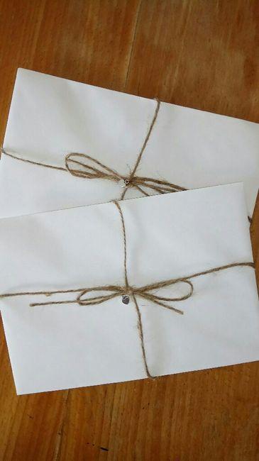 Convites de casamento fazer ou mandar fazer??? 3
