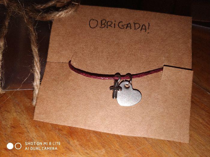Oferta para as damas de honor - Pulseiras Diy 2