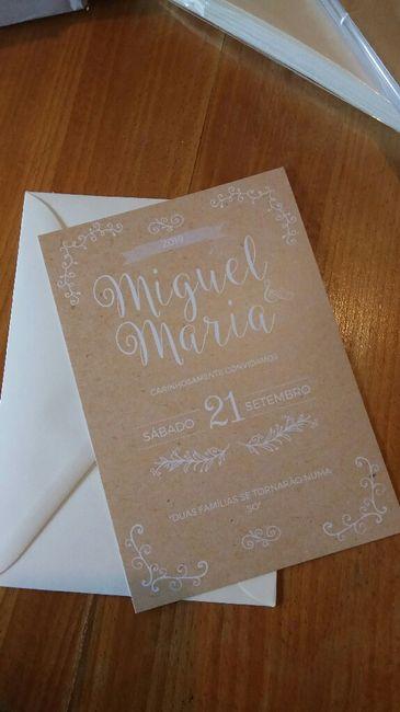 Convites de casamento fazer ou mandar fazer??? 1