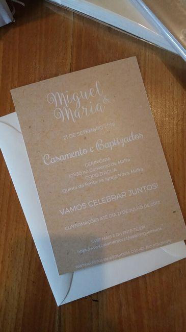 Convites de casamento fazer ou mandar fazer??? 2