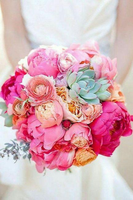 Mês rosa - inspirações buquê de noiva 4