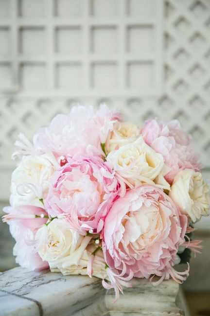 Mês rosa - inspirações buquê de noiva 5