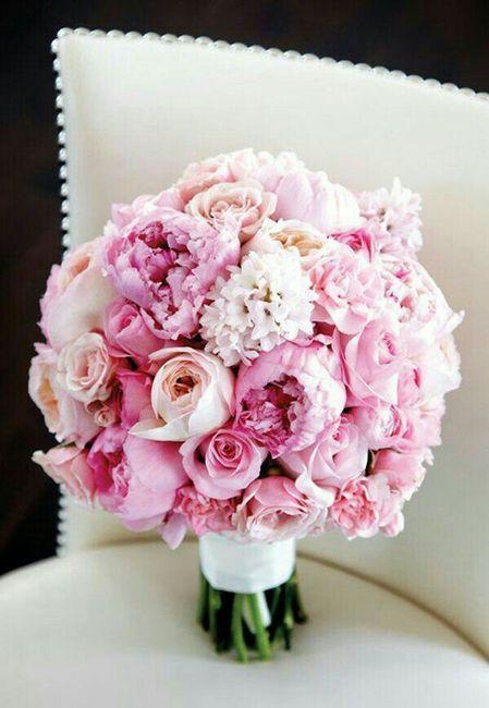 Mês rosa - inspirações buquê de noiva 7