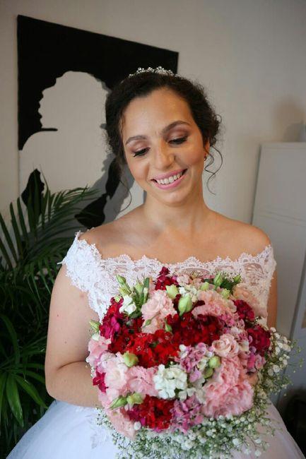 Mês rosa - inspirações buquê de noiva 8