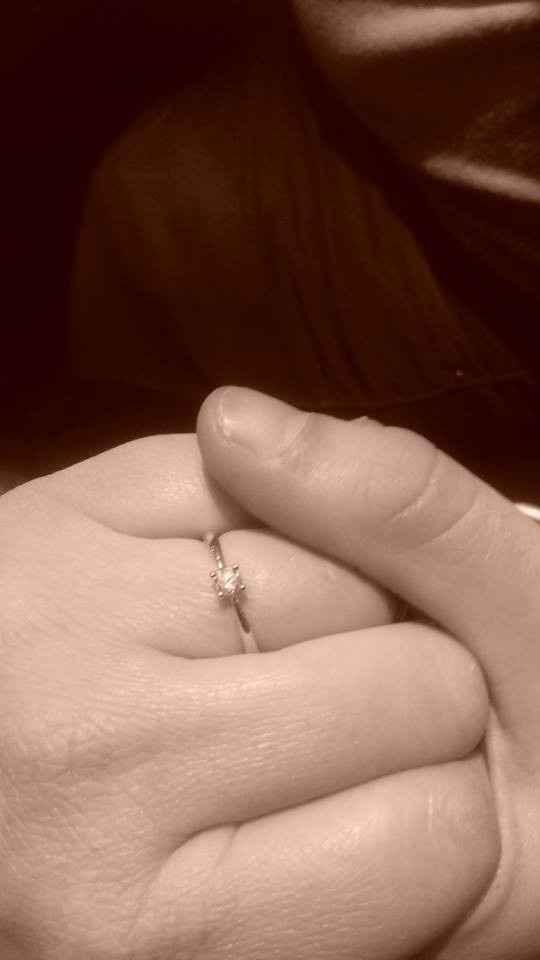 Oficialmente noiva!!!