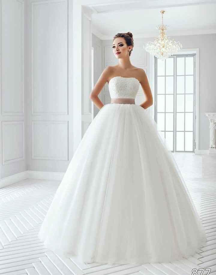 Mês de Outubro - mês rosa - inspirações vestidos de noiva - 3