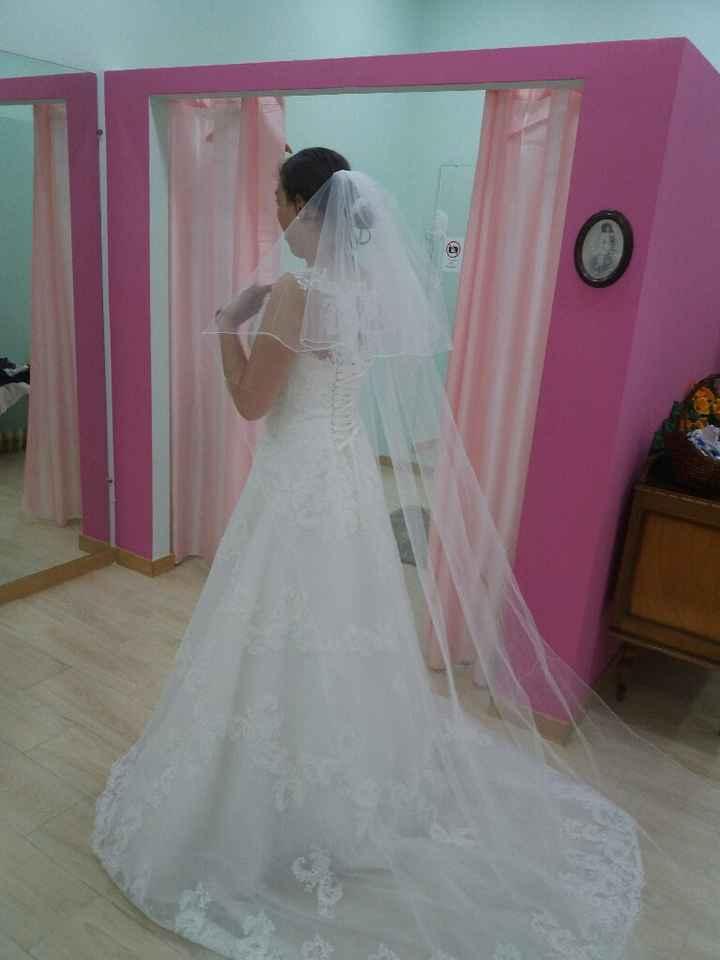 Primeira prova do vestido feita  ✔ - 2