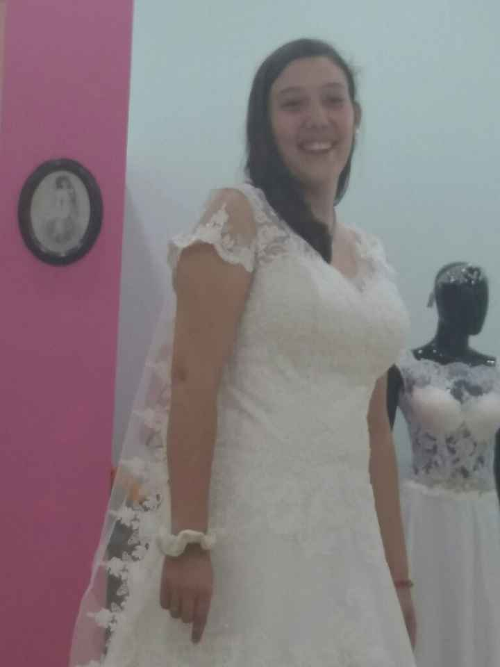 Primeira prova do vestido feita  ✔ - 3