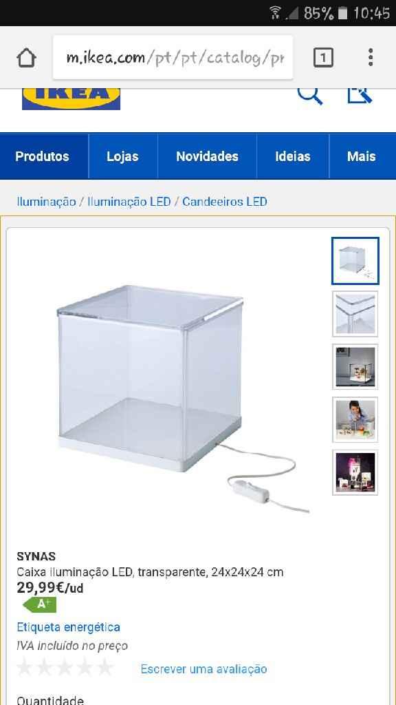 Caixa de vidro - 1