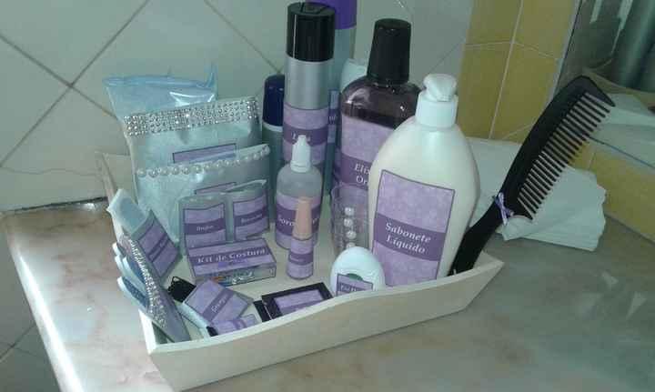 Kit Casa de Banho Senhoras