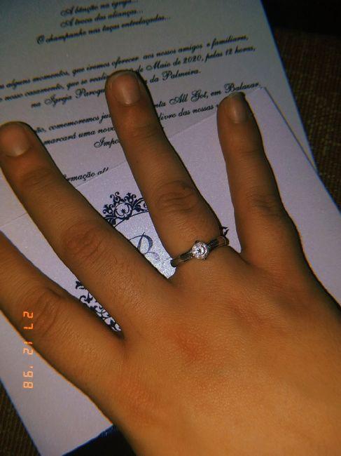 Bora partilhar o nosso anel de noivado? 💍😍 9