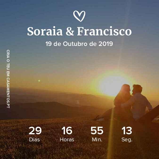 a 30 dias do dia tão aguardado 🥰 - 1
