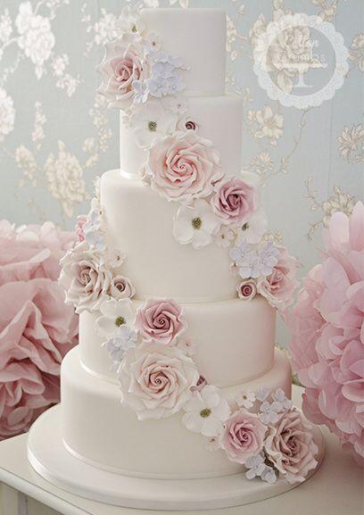 Noivas com estilo - o bolo de casamento 🎂 6