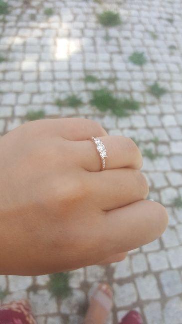 Boa noite :) Adorava ver os vossos anéis de noivado :) Quem quer partilhar? 6