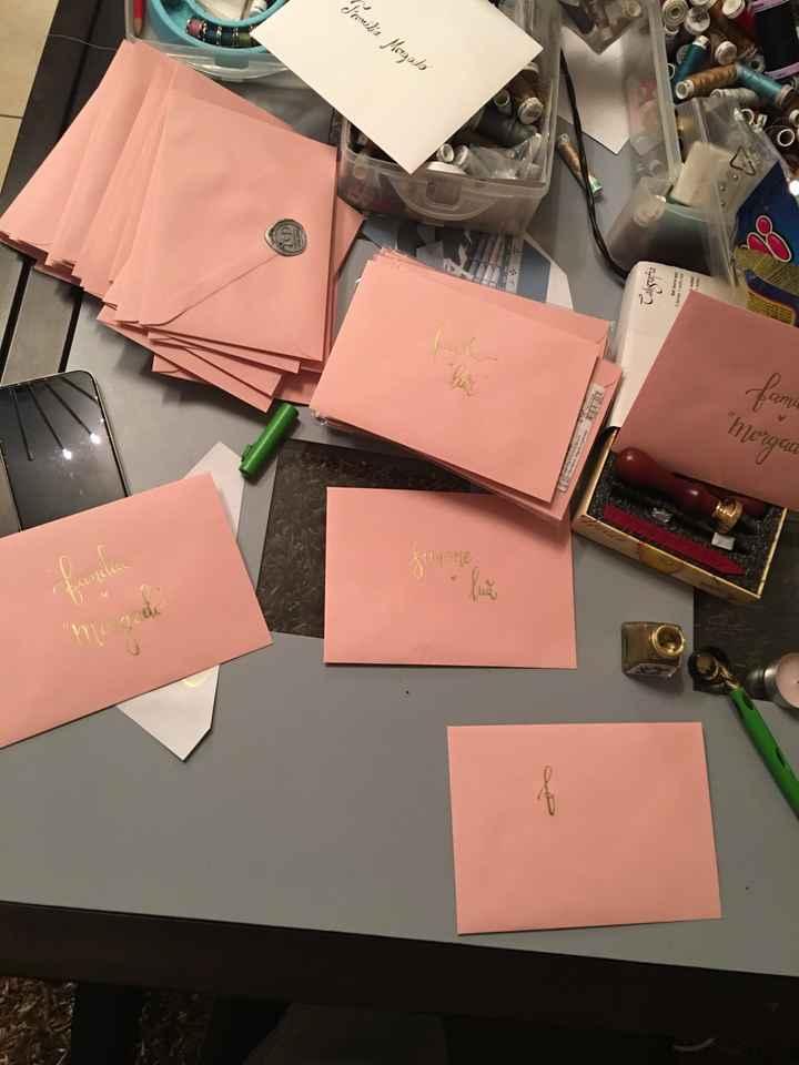 Convites e caixinhas de prendinhas para damas de honor - 3