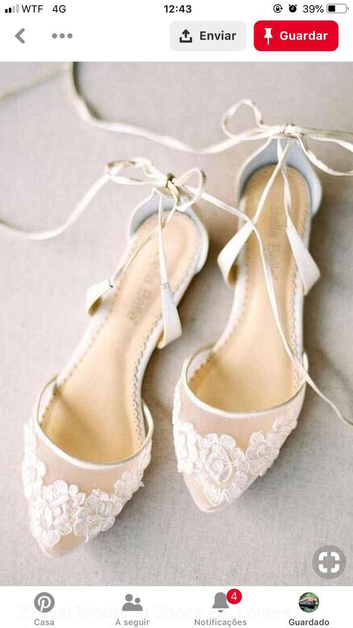 Sapatos de noiva-dilema total - 1