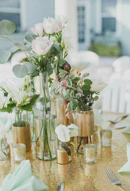 Detalhes Casamento/ Centros de Mesa 10