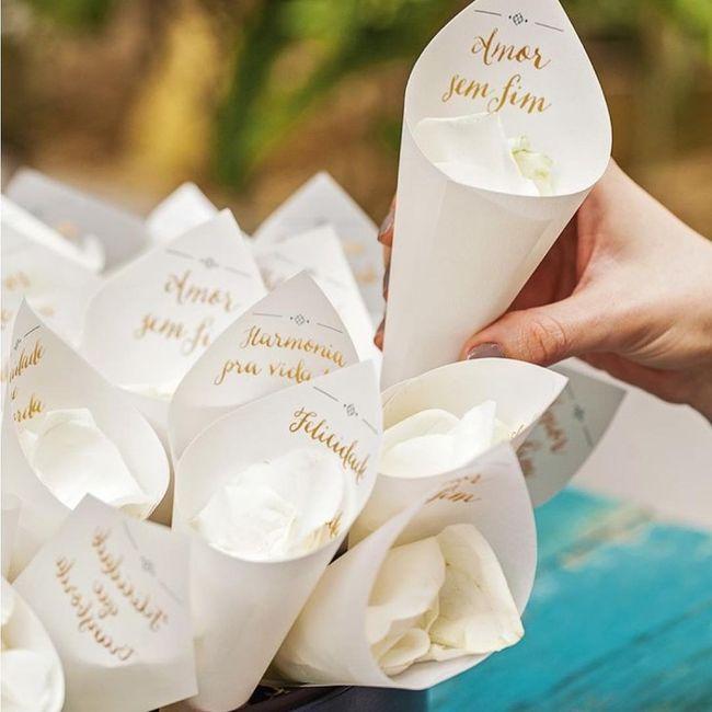 Cones de arroz com impressão 2