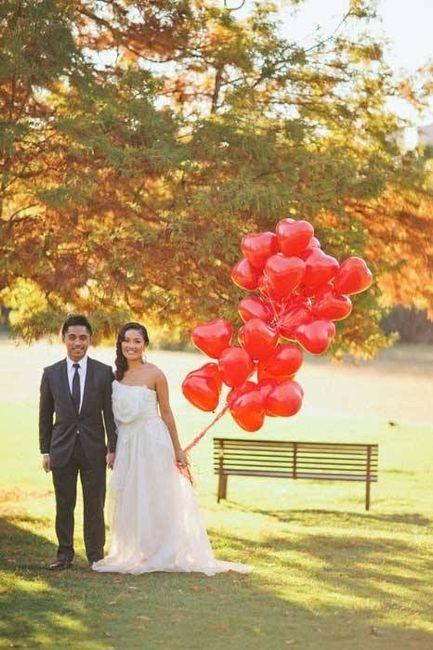 ideia para fotos noivos